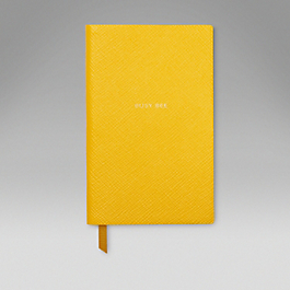Leather Busy Bee' Panama Notebook