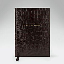 Leather Hardbound Cellar Book
