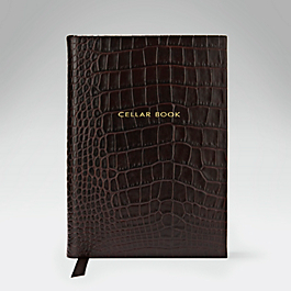 Leather Hardbound Cellar Book