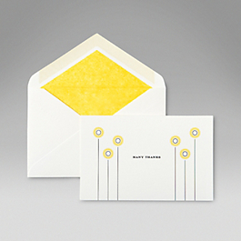 Sunflower Correspondence Cards