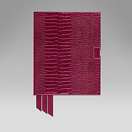 Leather 2015 Portobello Diary with slide