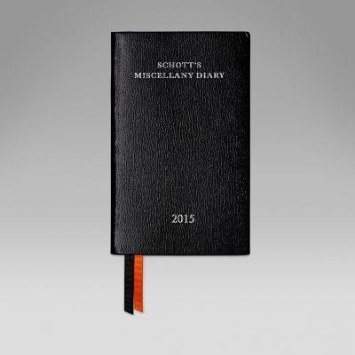 2015 Schott's Diary