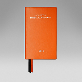 Leather 2015 Schott's Diary