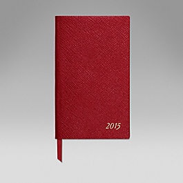 Leather 2015 Panama Diary with Address Book