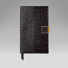 Leather 2015 Panama Diary with Slide