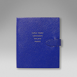 Leather 'Runway notes' notebook