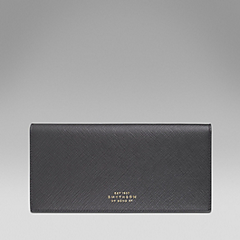 Leather coat wallet