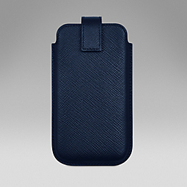 Leather smartphone cover