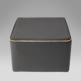 Leather extra large trinket case