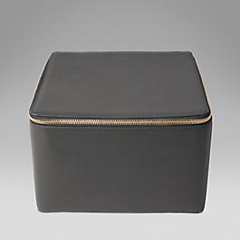 Leather extra large trinket case