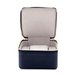 Leather travel watch box