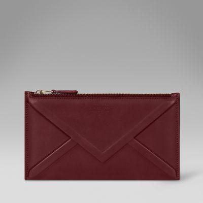 Envelope zip purse