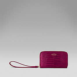 Leather iPhone purse