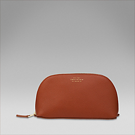 Leather cosmetics case