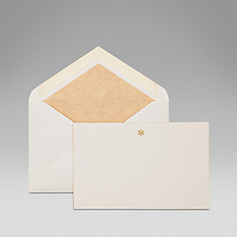 Flower correspondence cards