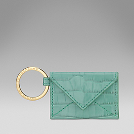 Leather Envelope Key Ring