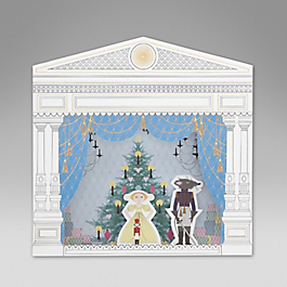 The Nutcracker Theatre Christmas Card
