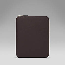 Leather A5 Writing Folder