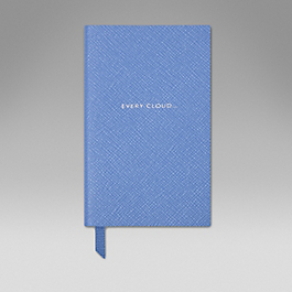 Leather Every Cloud' Panama Notebook