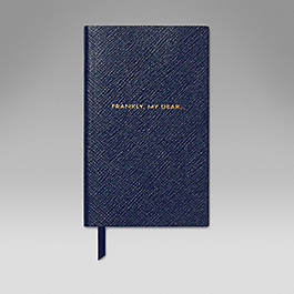 Leather Frankly My Dear' Panama Notebook