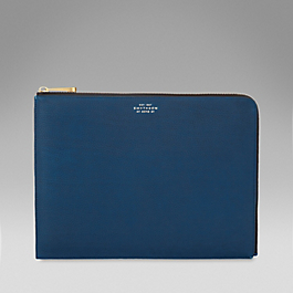 Leather Large Slim Pouch