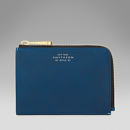 Leather Small Slim Pouch