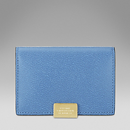 Leather Card Holder With Slide