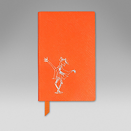 Leather Gentleman' Wafer Notebook