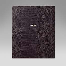 Luxury Leather 2016 Kings Diary