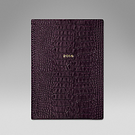Luxury Leather 2016 Soho Diary