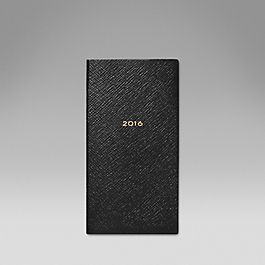 Luxury Leather 2016 Memoranda Diary