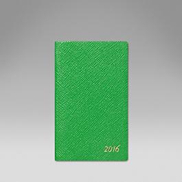 Luxury Leather 2016 Panama Diary with cedar pencil