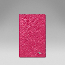Luxury Leather 2016 Panama Diary with pocket