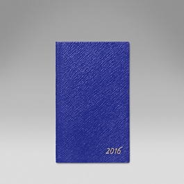 Luxury Leather 2016 Panama Diary with cedar pencil