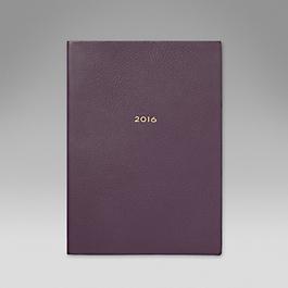 Luxury Leather 2016 Soho Diary
