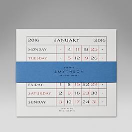 Leather 2015 S515 Calendar Refill Cards
