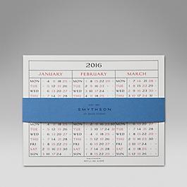 Leather 2015 S520 Calendar Refill Cards