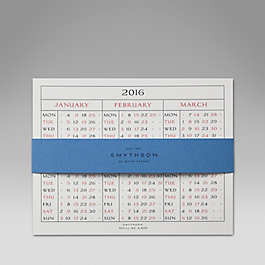 Leather 2015 S520 Calendar Refill Cards