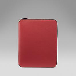 Leather A5 Zip Folder