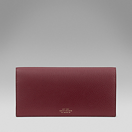 Leather Slim Travel Wallet
