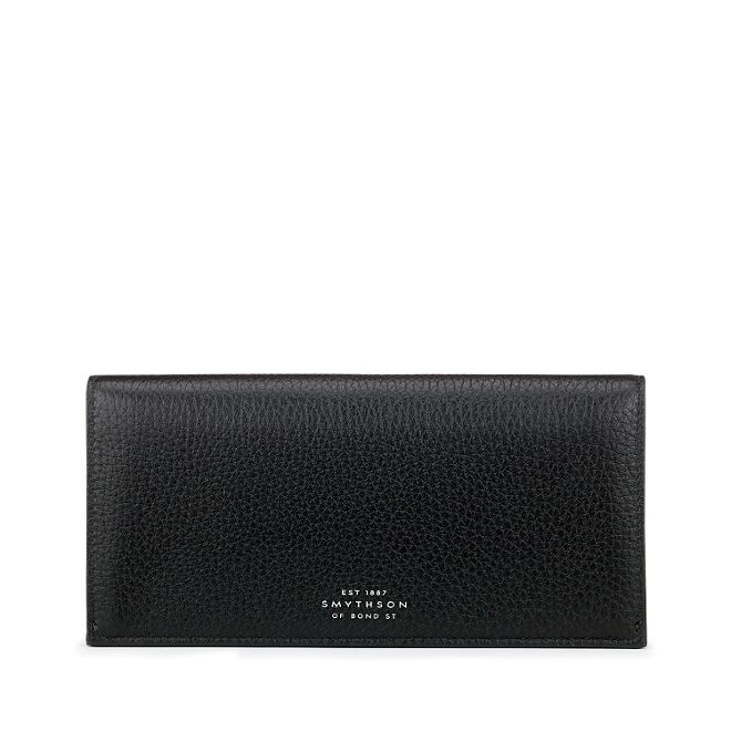 MALE | Smythson Burlington Slim Coat Wallet with Coin Pocket | Goxip