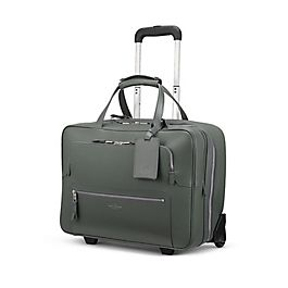 Leather Business Trolley