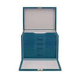 Leather Deluxe Jewellery Box