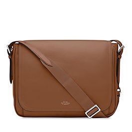 Leather Large Messenger Bag