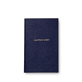 Leather Mayfair Missy Panama Notebook