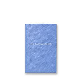 Leather The Cats Whiskers Wafer Notebook