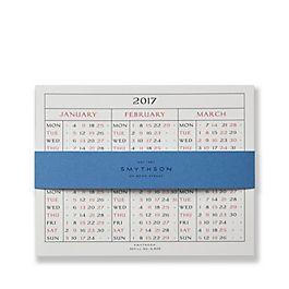 2017 S520 Calendar Refill Cards