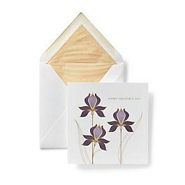 Iris Bouquet Mother's Day Card