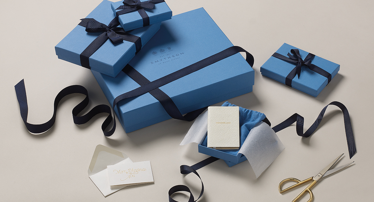 Gift wrapping negle Images