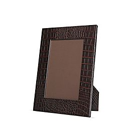 Petit cadre photo en cuir